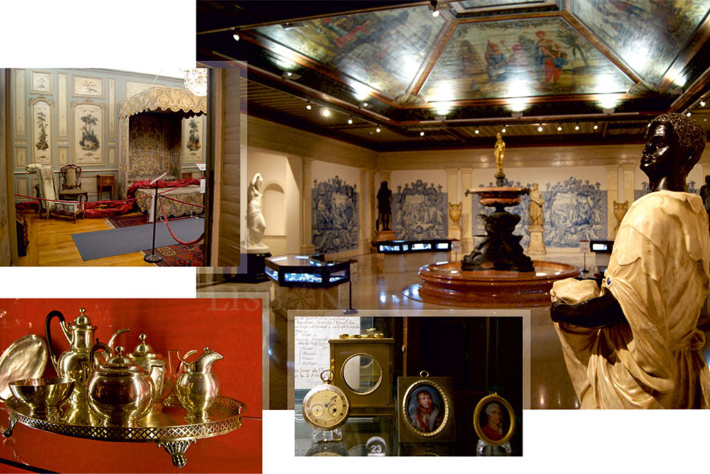 Interior of the Museum and objects associated to illustrious personalities