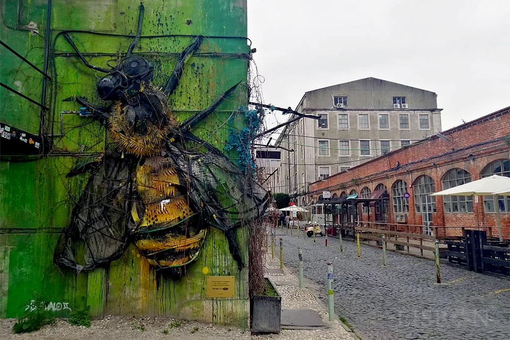 Bee, Lx Factory, Alcântara