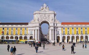 O Arco do Triunfo da Praça do Comércio