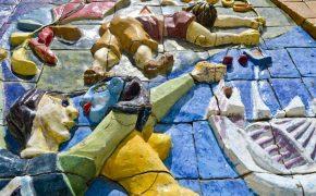 5 Relief Ceramic Panels in Lisbon
