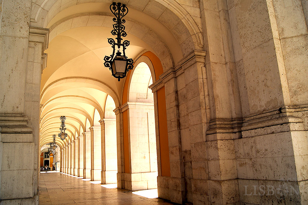 Arcade of Praça do Comércio
