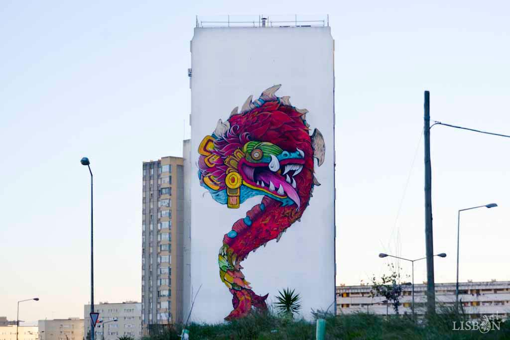 Arte Urbana de Marvila - Kilt
