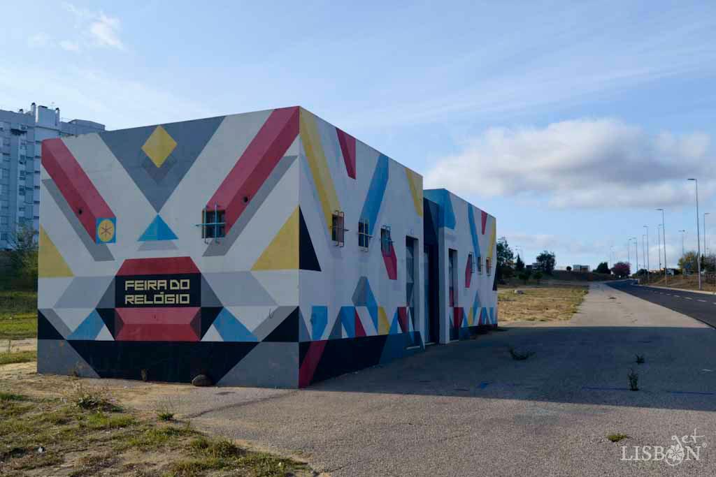 Arte Urbana de Marvila - FLIX - Kilt