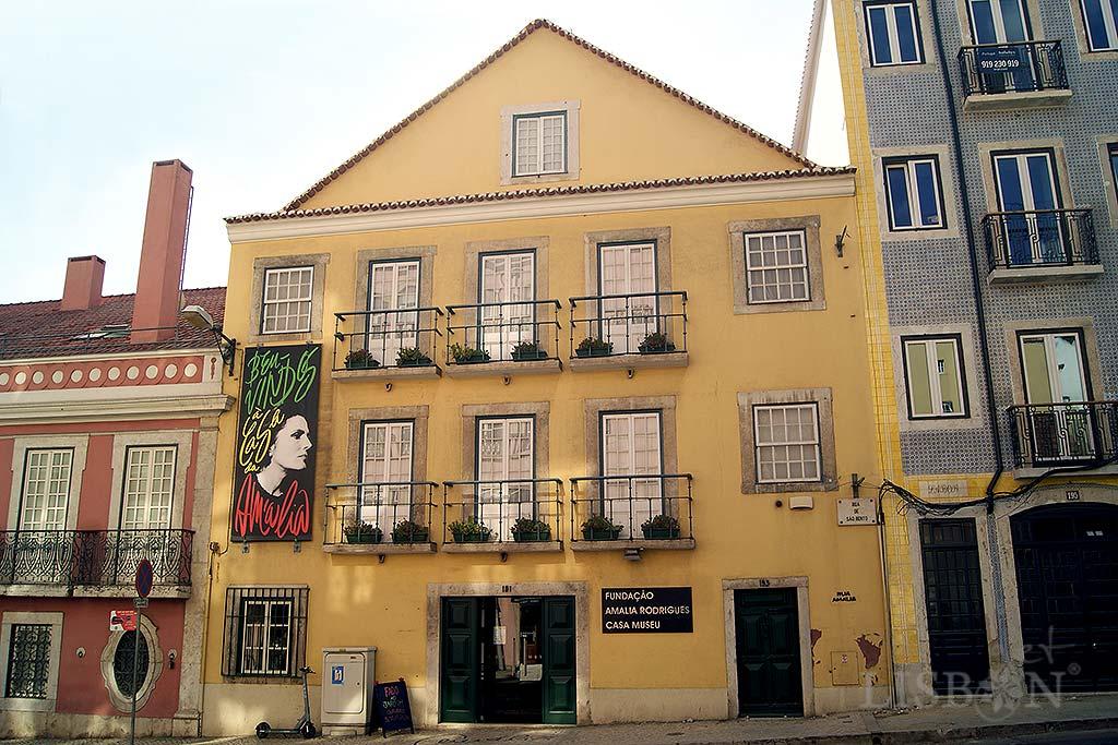 Amália Rodrigues House-Museum, Rua de São Bento no.193