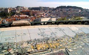 Panorâmicas de Lisboa em Azulejo de Fred Kradolfer