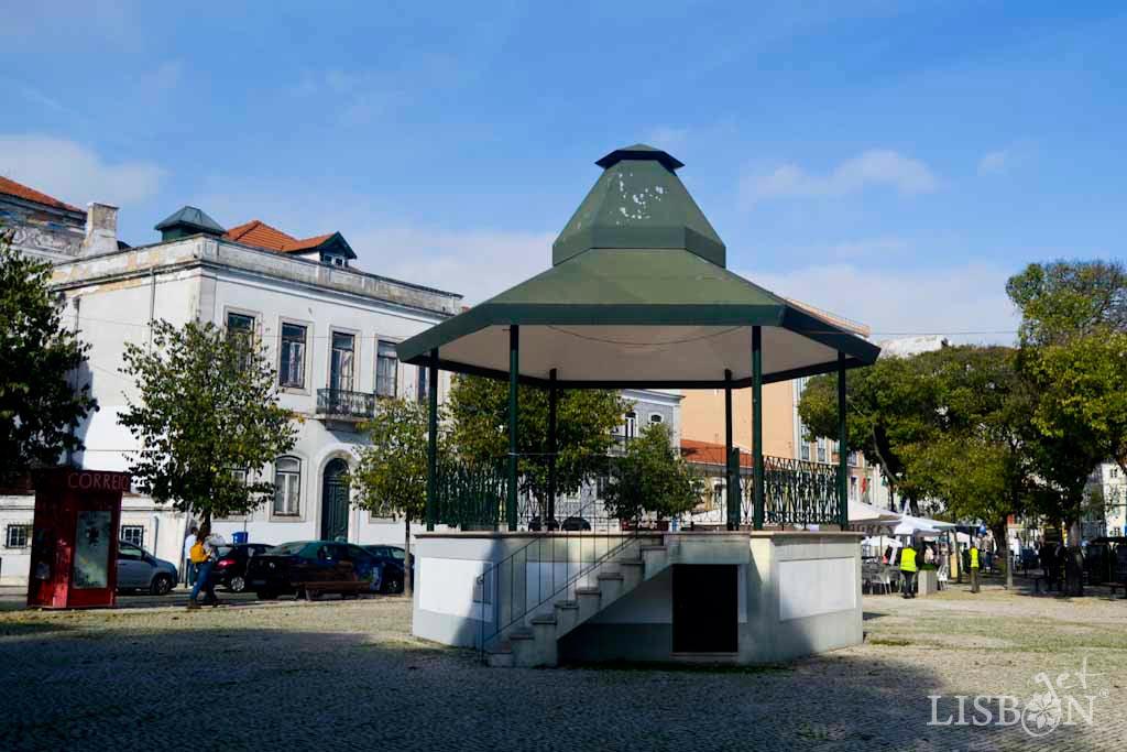 Bandstands of Lisbon: Graça Square