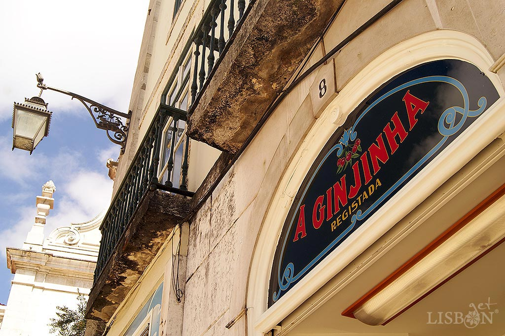 A Ginjinha - Espinheira is the oldest Ginjinha of Lisbon. It was founded in 1840 by a Galician, Francisco Espinheira, and the business has been run by his family for five generations. It has since then been located in São Domingos Square.