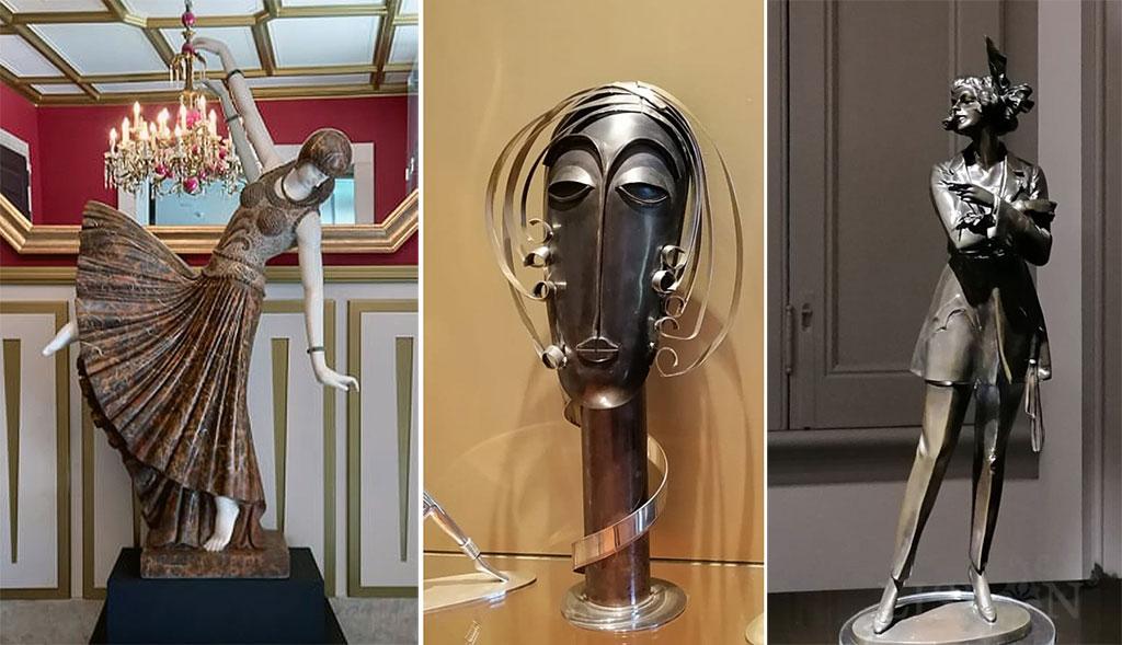 Representations of Isadora Duncan, Josephine Baker and Marlene Dietrich