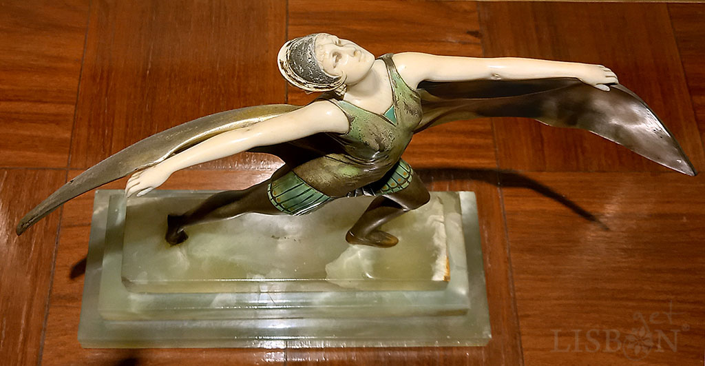 Johann-Philipp Pizeiss, Bat Dancer, 1920s, Berardo - Museum Art Deco Collection